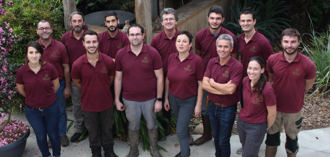 équipe pépinières brenlière